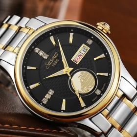 夜光瑞士机械表 男士商务休闲手表