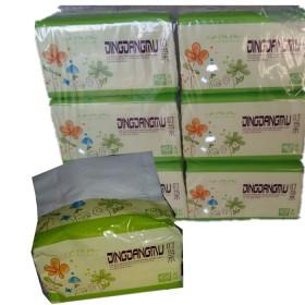 叮当木抽纸原木精品超柔特细面巾纸婴幼儿纸巾18包
