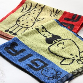 金润竹纤维吸水毛巾居家通用男女款洗脸面巾