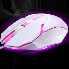 4档变速LOL游戏鼠标发光有限鼠标悬浮游戏办公鼠标