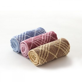 纯棉吸水易干成人洗脸巾柔软舒适简约家用毛巾加大加厚