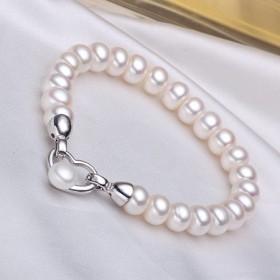 节日礼品 优雅 淡水珍珠手链