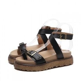新款女凉鞋试穿【亏卖10双】