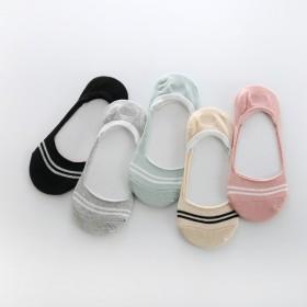 袜底袜托女可爱纯棉夏季薄款浅口硅胶防滑女袜
