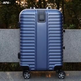 麦皮树旅行箱拉杆箱铝框密码箱万向轮男女行李箱24寸