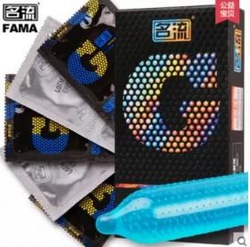 名流薄避孕套男用G点大颗粒30只中号情趣型套