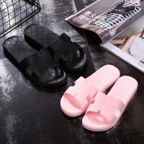拖鞋男夏季情侣居家用室内地板家居厚底防滑凉拖鞋女夏