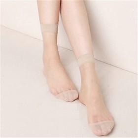 【40双】水晶超薄丝袜短袜透明防勾丝袜子