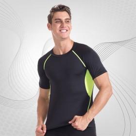 短袖男紧身速干健身衣 健身服男肌肉兄弟弹力夏季t恤