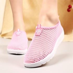 夏季新款老北京布鞋女鞋平底懒人透气休闲学生鞋软底轻