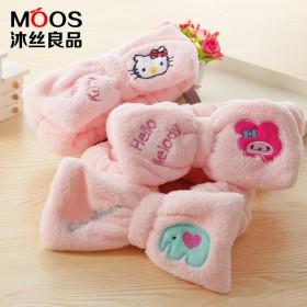 韩国可爱蝴蝶结洗脸束发带化妆运动洗澡面膜发箍头巾