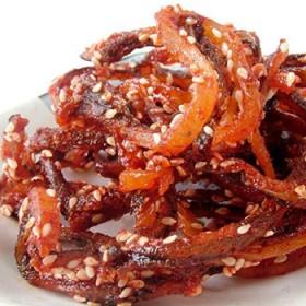 繁博蜜汁香辣鳗鱼丝180g即食海味零食 特产小包装