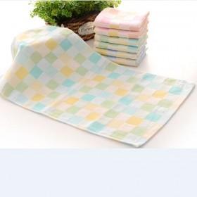 【5条装】双层婴儿纯棉纱布毛巾纱布童巾纯棉纱布童巾