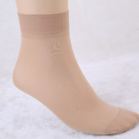 【10双】夏季超薄款女丝袜防勾丝短袜黑肉色棉底短丝