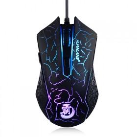 幻狼1号宏定义炫光游戏鼠标有线专业电竞霸气