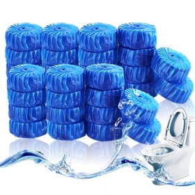 (4-9186)马桶清洁蓝泡泡洁厕宝30个