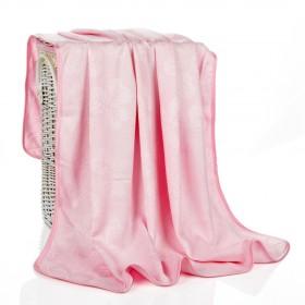 90X100儿童竹纤维夏凉毯毛巾被盖毯推车毯