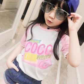 夏季女童短袖T恤