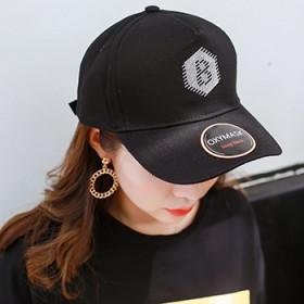 帽子女夏天时尚潮韩版棒球帽百搭学生遮阳男士鸭舌帽