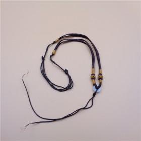 手工编制项链吊坠玉佩珠链挂绳