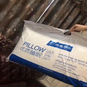 希尔顿超值一对装 情侣全棉成人家用护颈枕芯枕头
