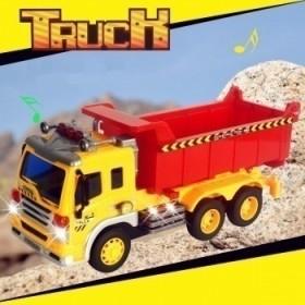 二款可选 高档大号工程车 精美彩盒包装多功能玩具