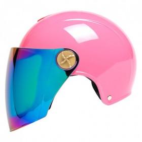 头盔夏季防晒助力电动机车女摩托车半覆式男防紫外线轻