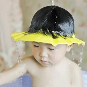 小孩宝宝洗头帽神器可调节婴儿防水儿童浴帽护耳洗澡帽