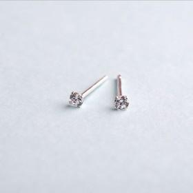 【一对】纯银认证气质耳钉
