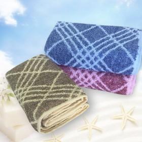 净轩阁纯棉吸水毛巾舒适家用成人男女款洗面巾柔软包邮