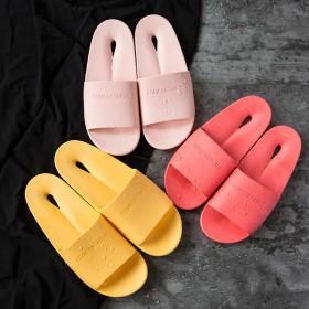 浴室拖鞋防滑洗澡漏水居家塑料拖鞋情侣日式家居男室内