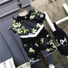 童装男童短袖套装夏2017新款韩版小孩衣服儿童宝宝