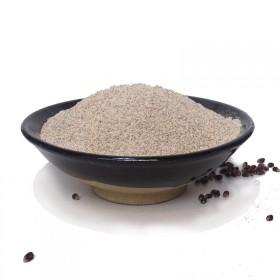 农家石磨黑麦粉富硒黑小麦全麦面包粉含麸皮