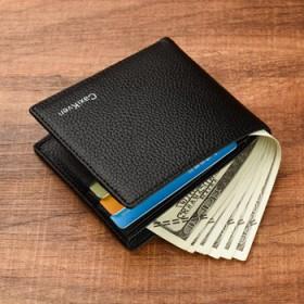 男士短款多卡位钱包