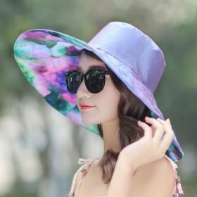遮阳帽女出游防晒帽子沙滩帽防紫外线