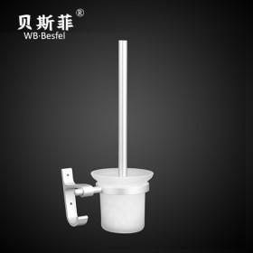 太空铝毛巾杆马桶刷厕纸架浴室卫生间卫浴用品