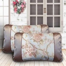 【一对两只】夏季专用冰丝枕套 夏天凉席枕头套