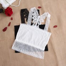3条装 蕾丝少女吊带小背心打底衫内搭裹胸