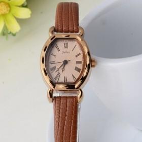 聚利时i简约时尚女士手表,学生表,石英皮带表