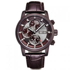 全自动机械手表皮带夜光运动男表时尚男士时尚黑色防水
