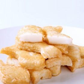 5袋装鱼豆腐 鱼形和心形火锅烧烤食材零食1000g
