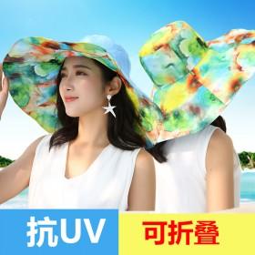 夏季太阳帽户外遮阳帽防晒帽子