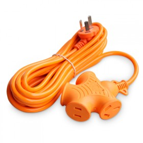 家用电源插座排插防爆2米插排电动车充电延长接线插线