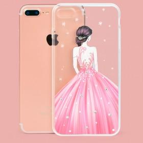 iphone7puls苹果7手机壳女款水钻透明软胶