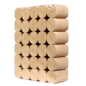 5斤30卷妇婴专用竹纤维本色卫生纸卷纸抽纸