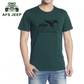 AFSJEEP/战地吉普品牌新款短袖t恤