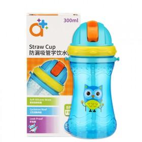 大容量儿童夏季吸管水壶 卡通水壶
