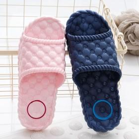 夏季拖鞋女居家用室内防滑情侣厚底塑料夏天家居凉拖鞋