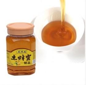 纯天然土蜂蜜成熟新蜜天然百花蜜野生原蜜野山花蜂蜜