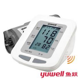 鱼跃电子血压计YE660D语音上臂式智能血压测量仪